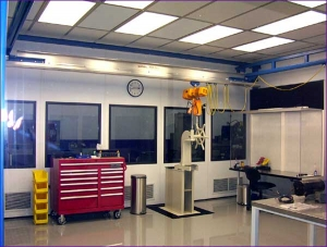 Spindle Inspection Room
